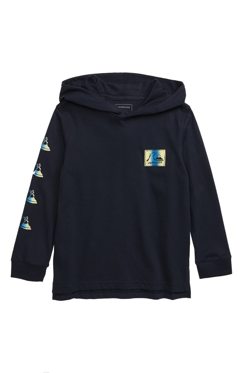 QUIKSILVER Fade Out Hooded Pullover, Main, color, 400