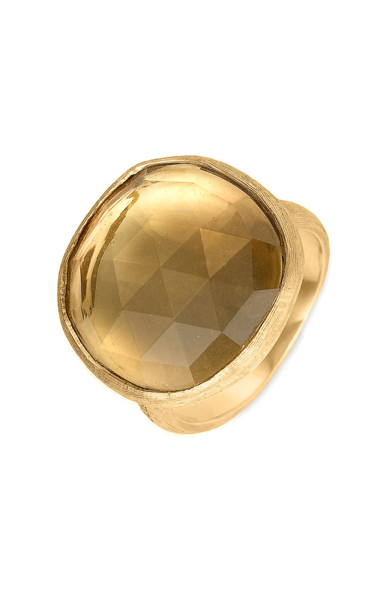 MARCO BICEGO 'Jaipur' Large Citrine Ring, Main, color, 710