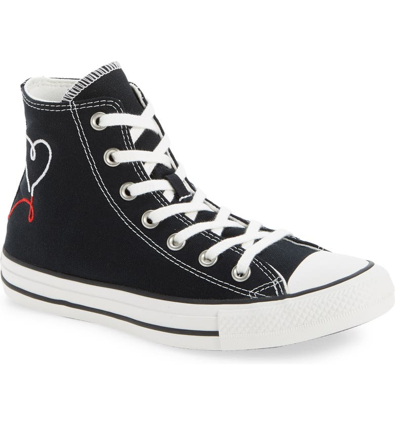 CONVERSE Chuck Taylor<sup>®</sup> All Star<sup>®</sup> 70 High Top Sneaker, Main, color, 001