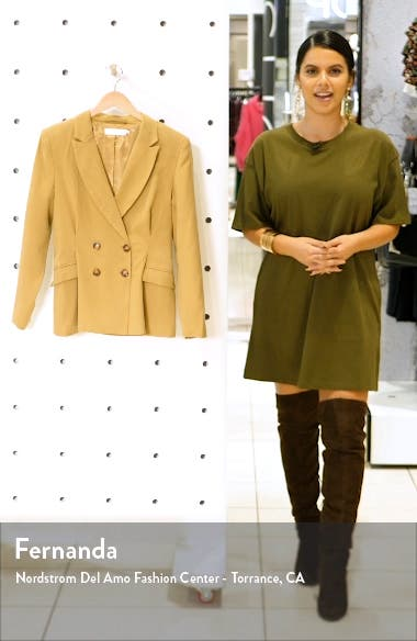 Pleat Detail Fitted Blazer, sales video thumbnail