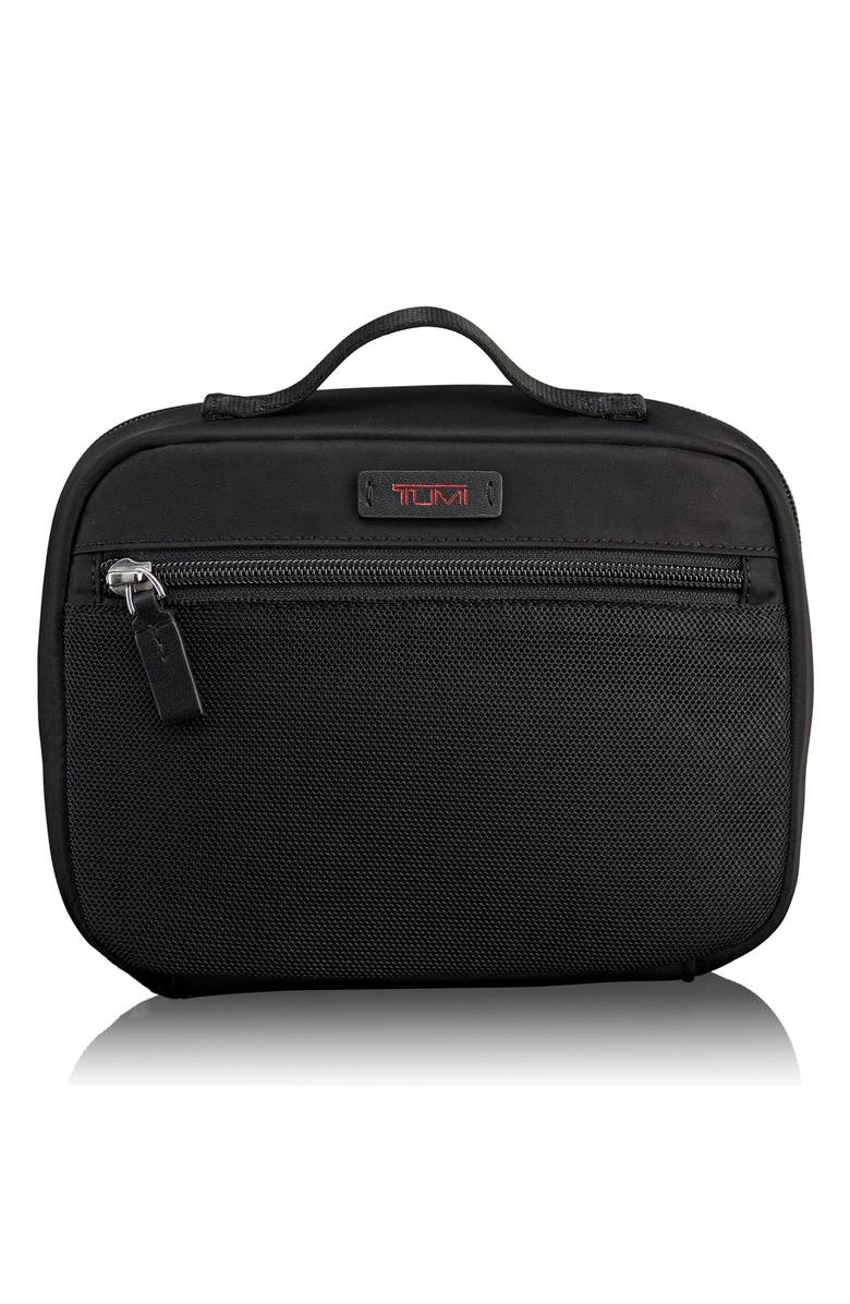 TUMI Large Accessory Pouch, Main, color, BLACK