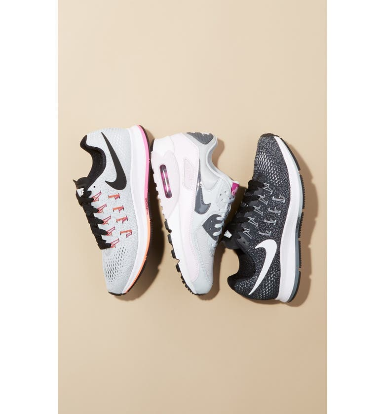 NIKE 'Air Max - Essential' Sneaker, Main, color, WHITE/ COOL GREY/ RED