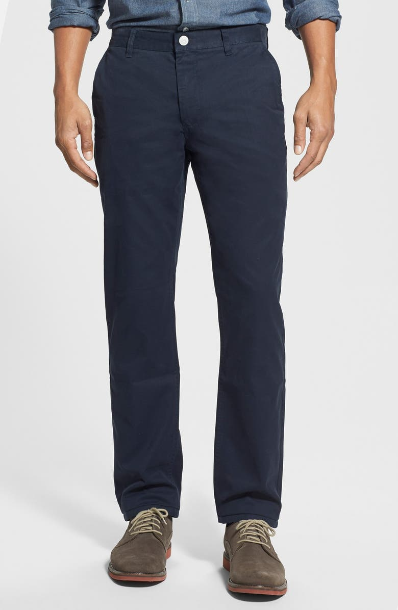 BONOBOS Slim Fit Washed Chinos, Main, color, 400