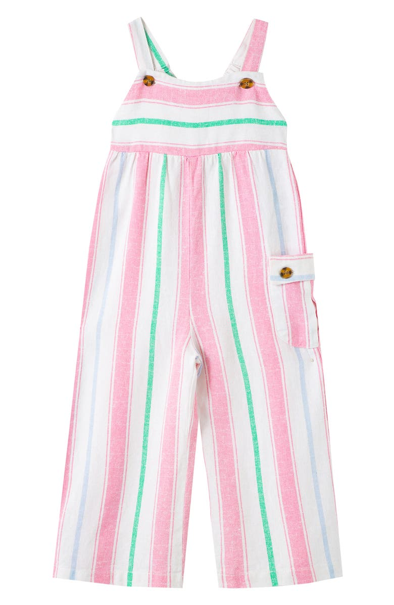 HABITUAL GIRL Kids' Stripe Jumpsuit, Main, color, MULTI