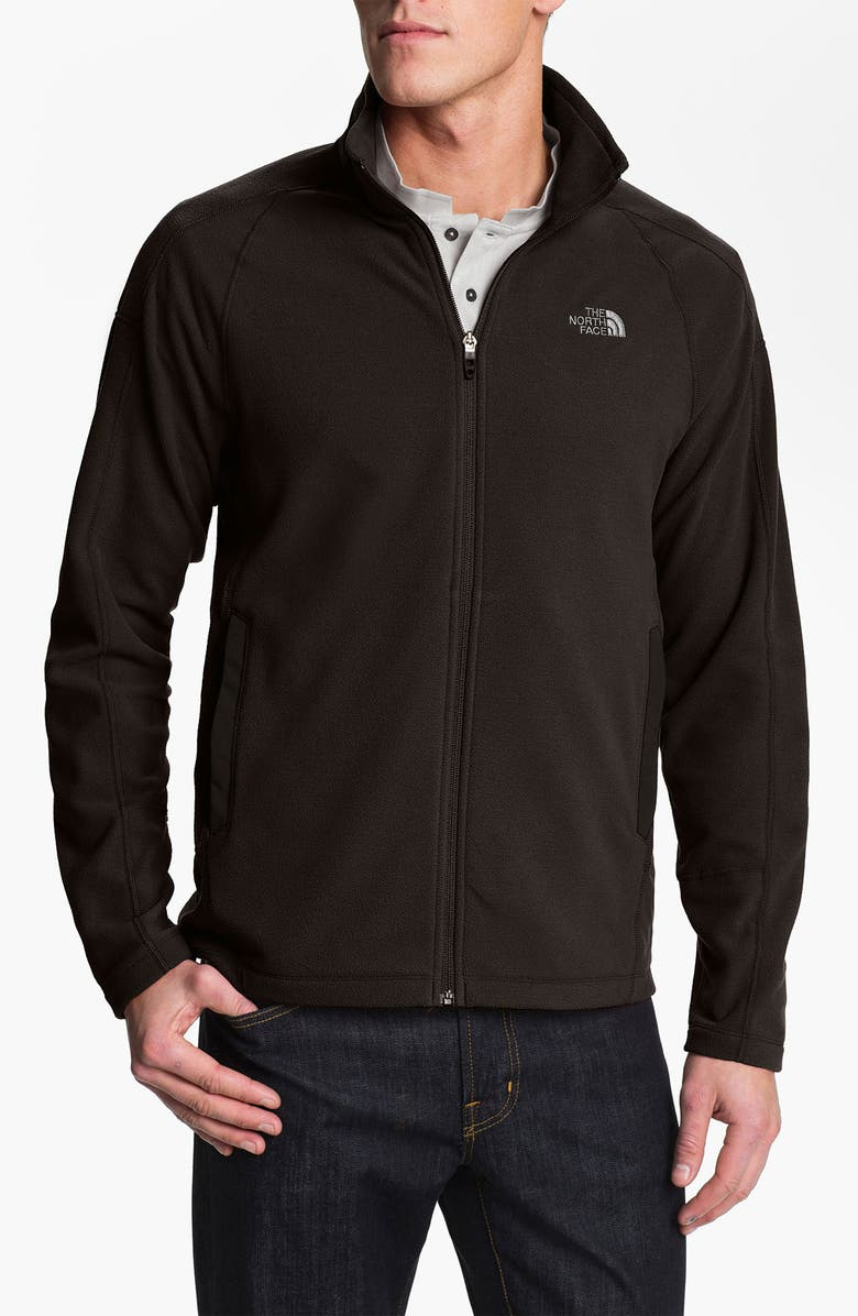 THE NORTH FACE 'RDT 100' FlashDry<sup>™</sup> Full Zip Fleece Jacket, Main, color, Black