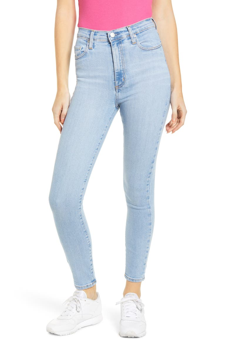 NOBODY DENIM Siren High Waist Ankle Skinny Jeans, Main, color, 400