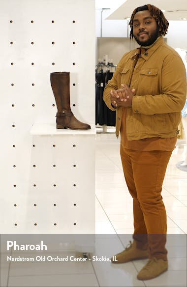 Melissa Belted Knee-High Riding Boot, sales video thumbnail