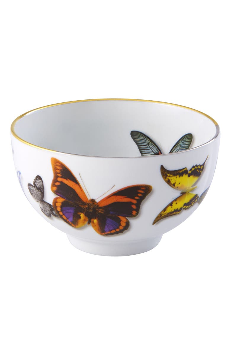 CHRISTIAN LACROIX Butterfly Parade Rice Bowl, Main, color, MULTI