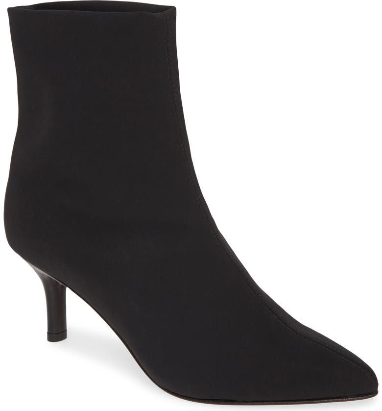 AMALFI BY RANGONI Petronilla Pointed Toe Bootie, Main, color, 001