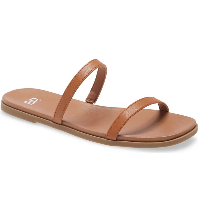 BP. Sage Slide Sandal, Main, color, TAN