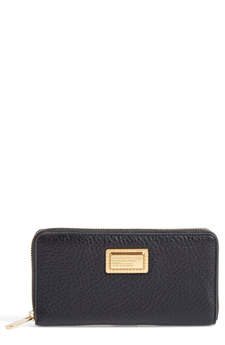 MARC JACOBS MARC BY MARC JACOBS 'Take Your Marc - Vertical Zippy' Wallet, Main, color, 001