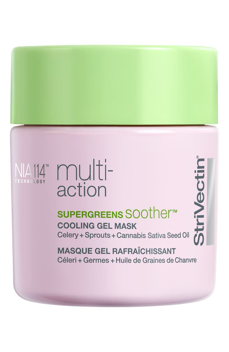 STRIVECTIN<SUP>®</SUP> Supergreens Soother Cooling Gel Mask, Main, color, No Color