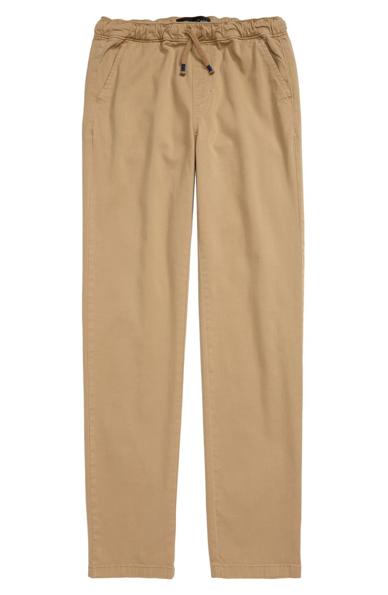 TREASURE & BOND Kids' All Day Relaxed Pants, Main, color, TAN STOCK