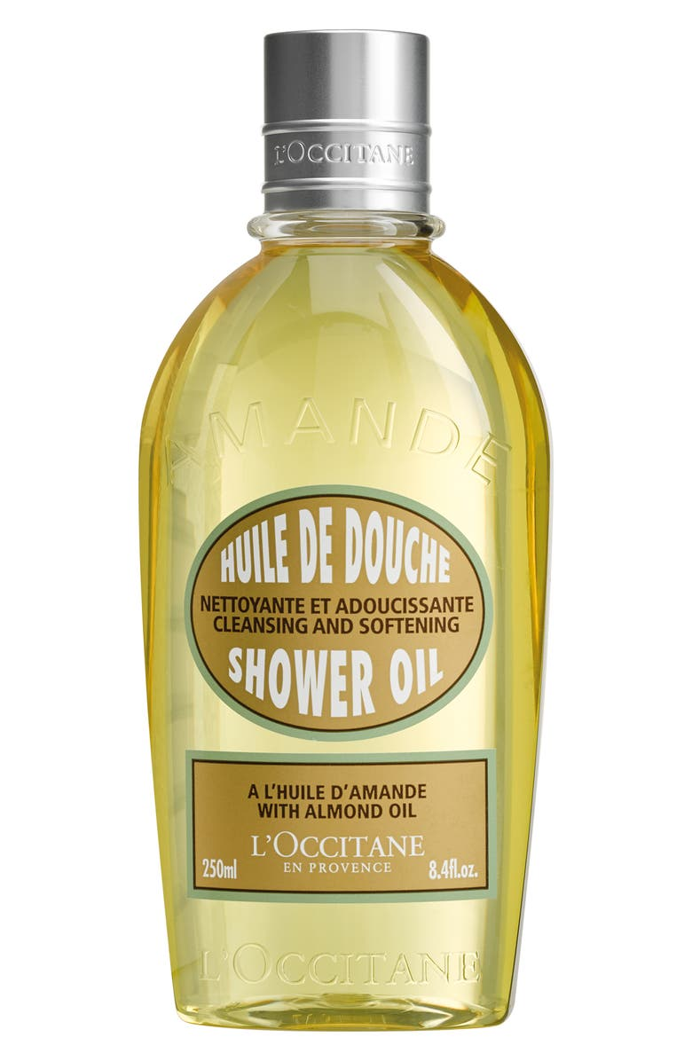 L'OCCITANE Almond Shower Oil, Main, color, NO COLOR