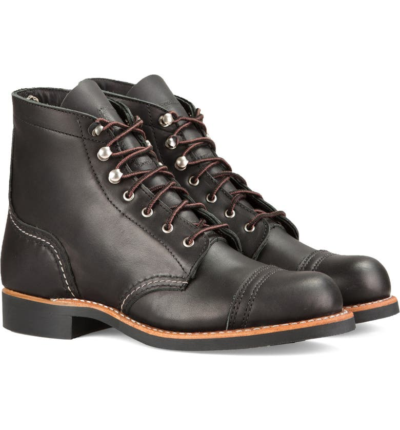 RED WING Iron Ranger Boot, Main, color, 001