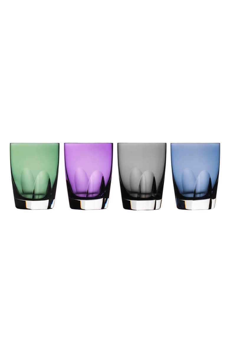 WATERFORD W Set of 4 Lead Crystal Tumblers, Main, color, 099