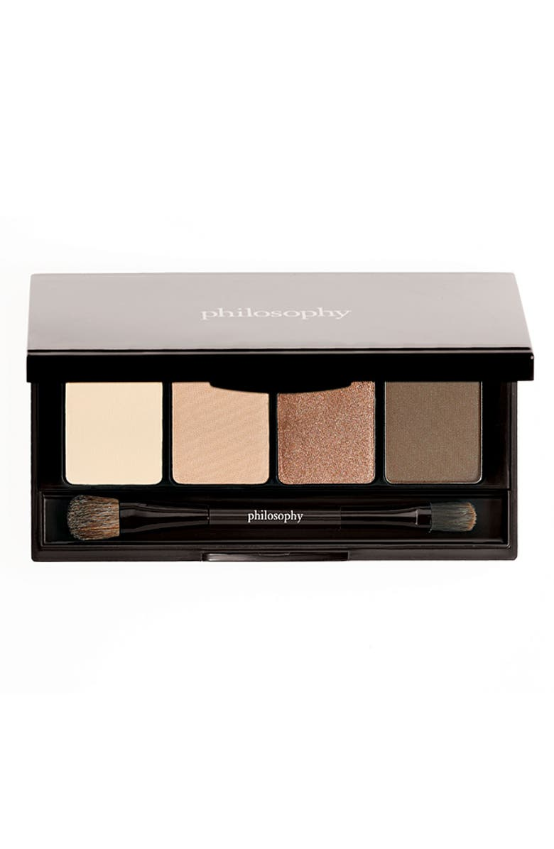 PHILOSOPHY 'the supernatural windows to the soul' eyeshadow palette, Main, color, BOX OF TRUFFLES