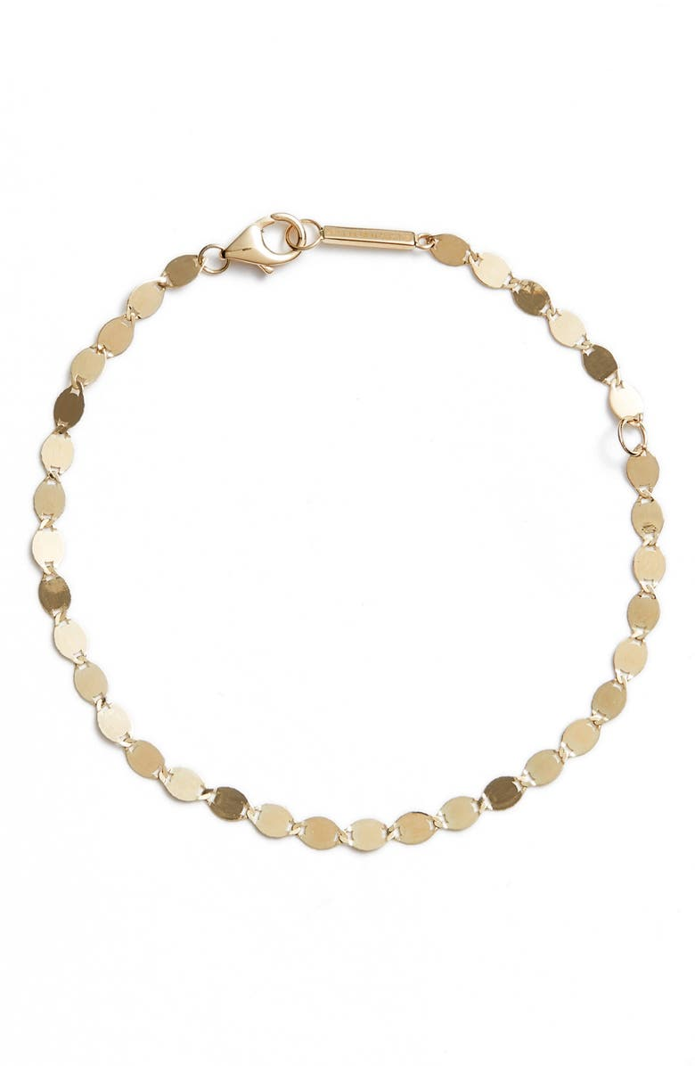 LANA JEWELRY Nude Link Bracelet, Main, color, YELLOW GOLD