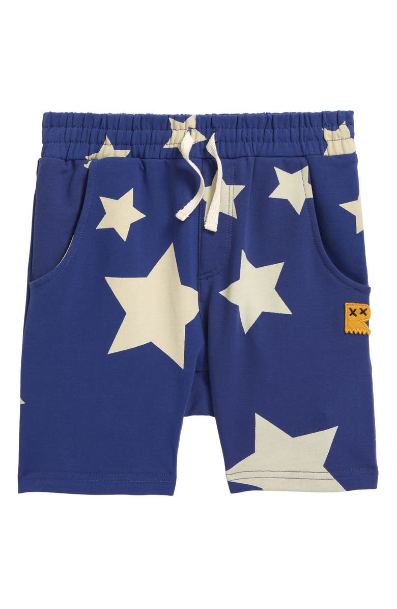 ROCK YOUR BABY Kids' Stardust Shorts, Main, color, BLUE
