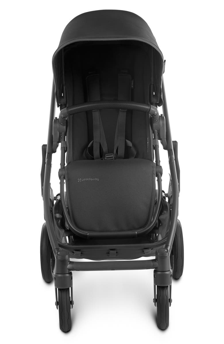UPPABABY CRUZ V2 Stroller, Main, color, CHARCOAL/ BLACK LEATHER