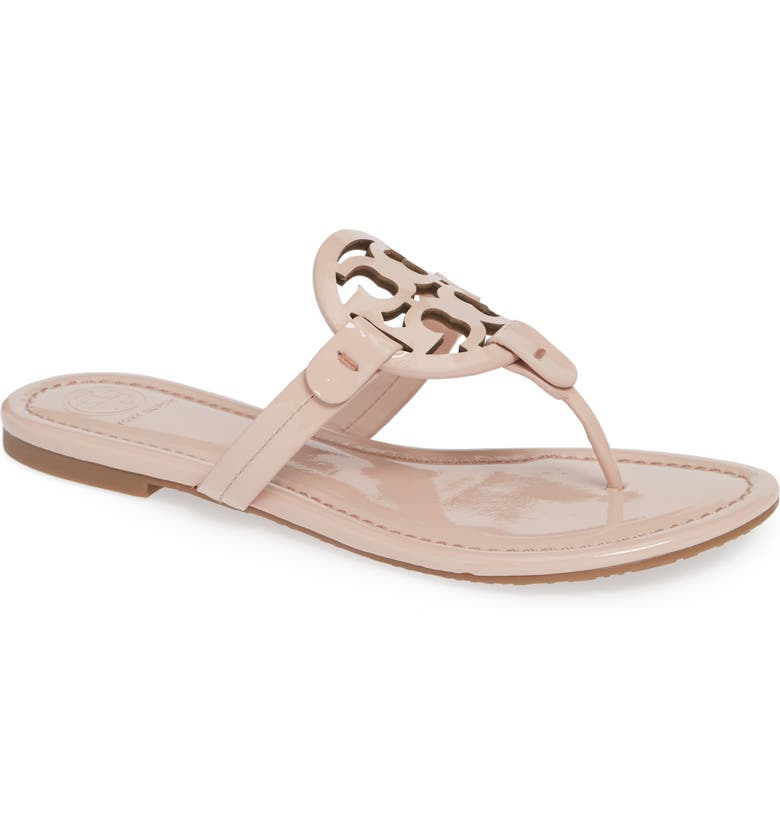 TORY BURCH Miller Sandal, Main, color, SEA SHELL PINK