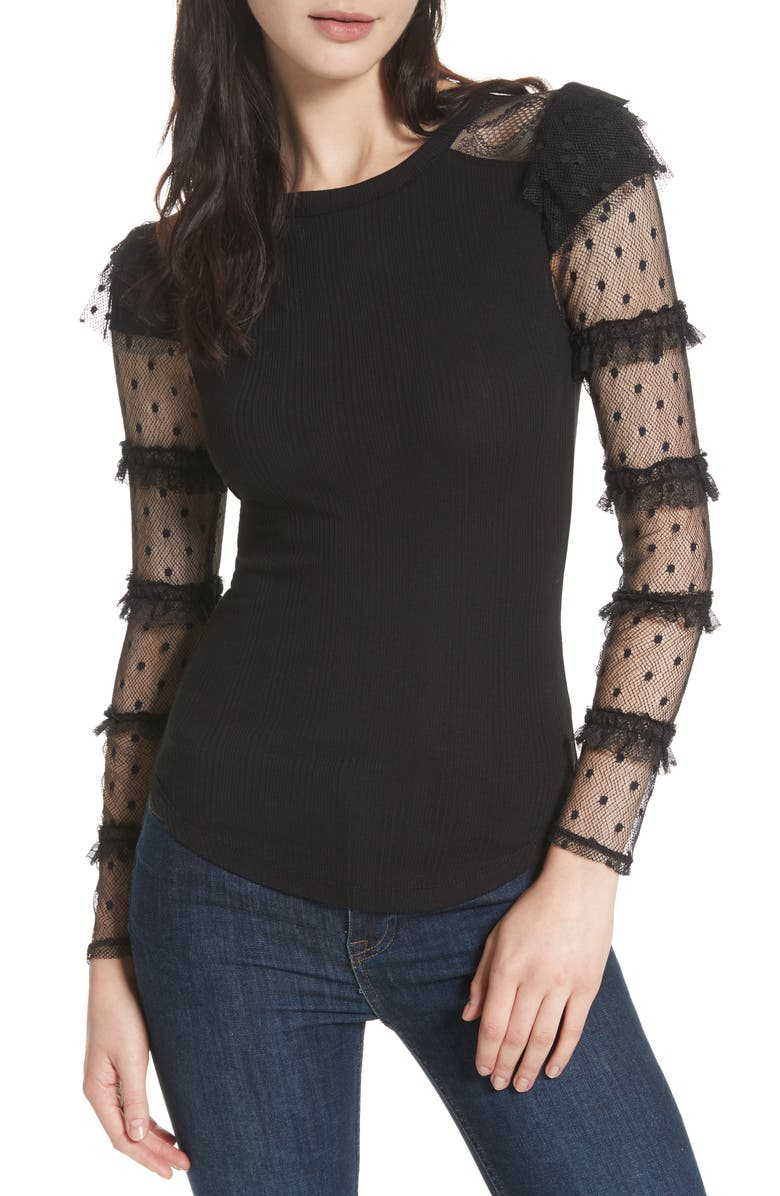 FREE PEOPLE Kiss Kiss Top, Main, color, 001