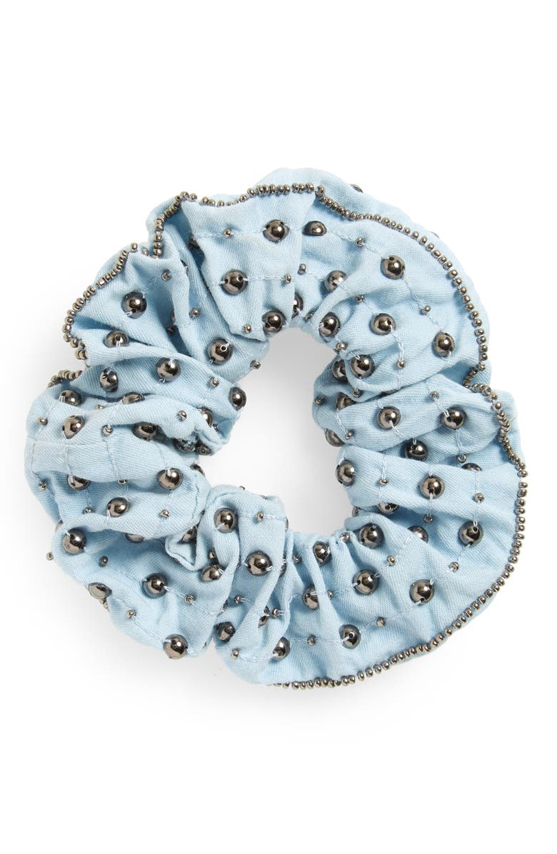 NFC New Friends Colony Studded Scrunchie, Main, color, 461
