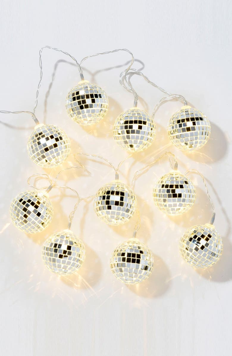 TALKING TABLES Disco Ball LED Lights, Main, color, 040