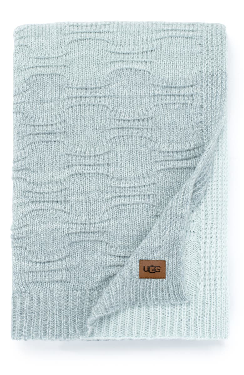 UGG<SUP>®</SUP> Offshore Throw Blanket, Main, color, 400