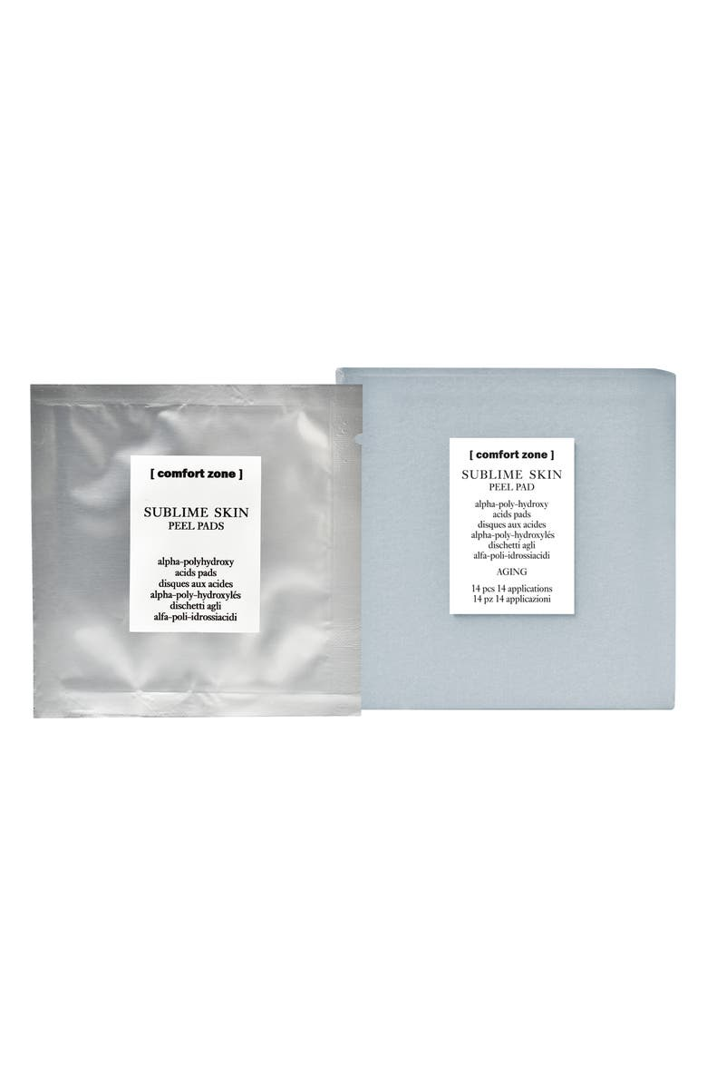 COMFORT ZONE Sublime Skin Peel Pads, Main, color, NO COLOR