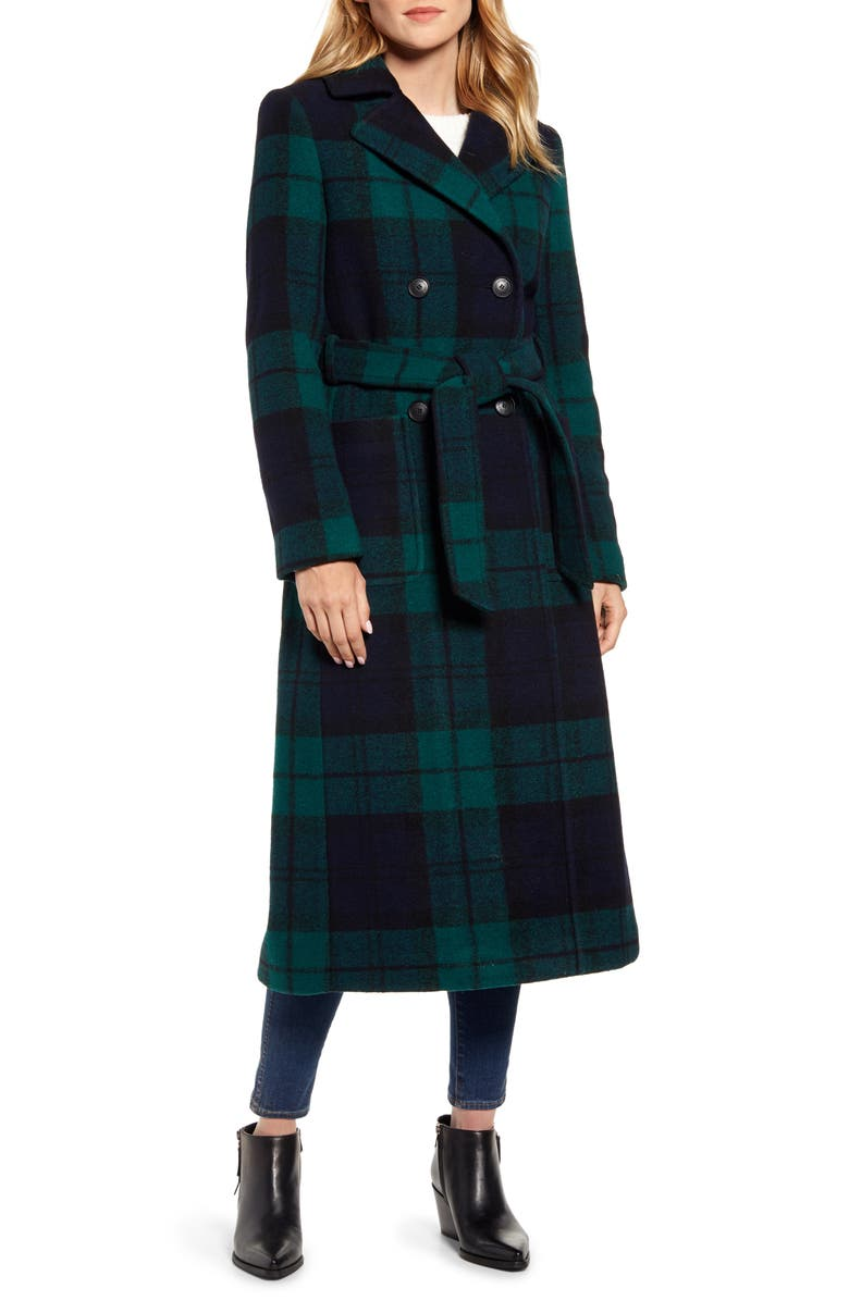 PENDLETON Aurora Classic Double Breasted Reefer Coat, Main, color, 400