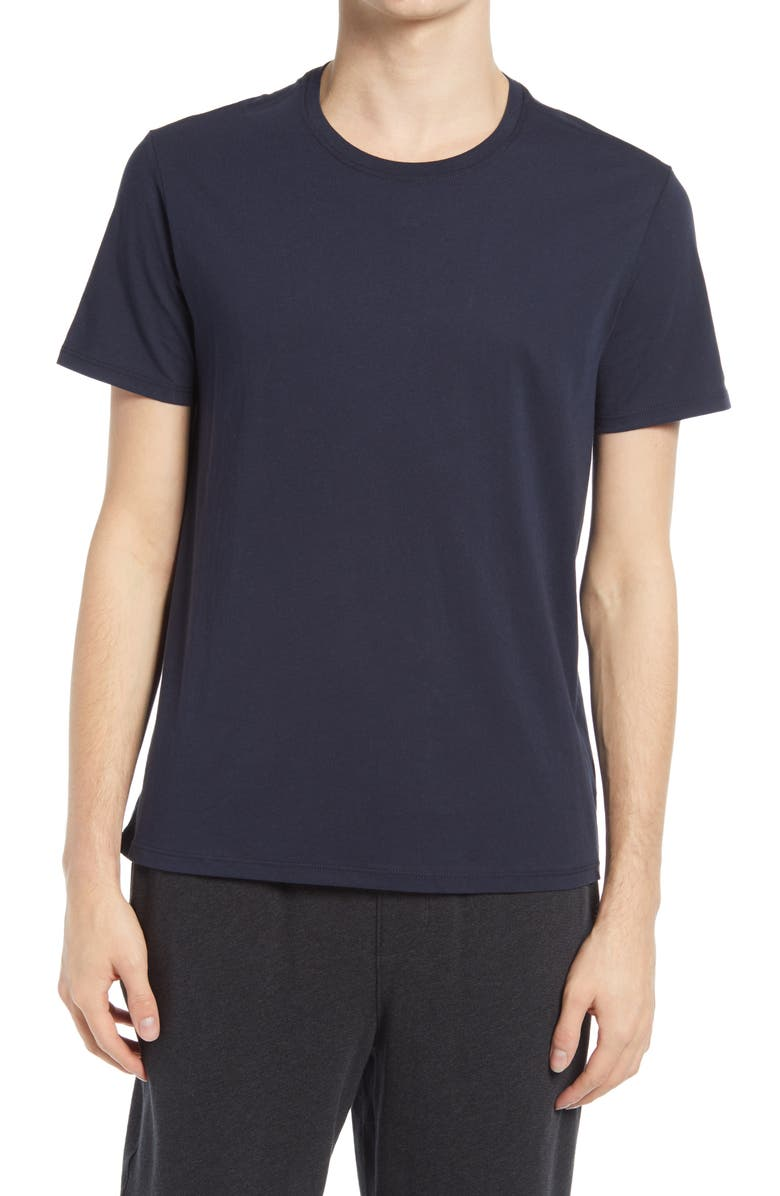 ATM ANTHONY THOMAS MELILLO Cotton Crewneck T-Shirt, Main, color, MIDNIGHT