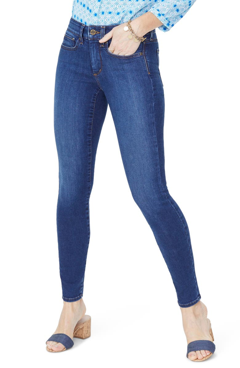 NYDJ Ami Stretch Skinny Jeans, Main, color, COOPER