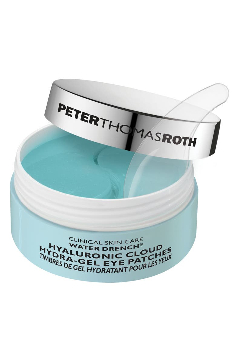 PETER THOMAS ROTH Water Drench Hyaluronic Cloud Hydra-Gel Eye Patches, Main, color, No Color