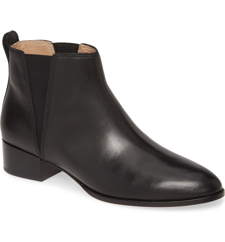 MADEWELL The Carina Bootie, Main, color, TRUE BLACK