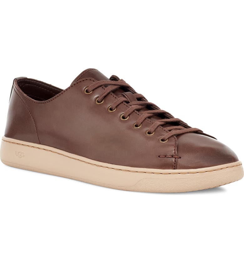 UGG<SUP>®</SUP> Pismo Slip-On Sneaker, Main, color, COGNAC LEATHER