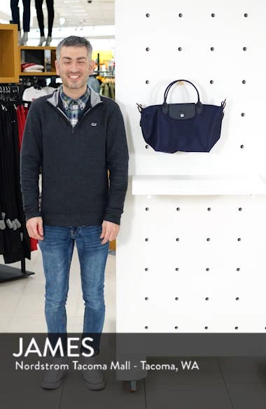 'Small Le Pliage Neo' Nylon Top Handle Tote, sales video thumbnail