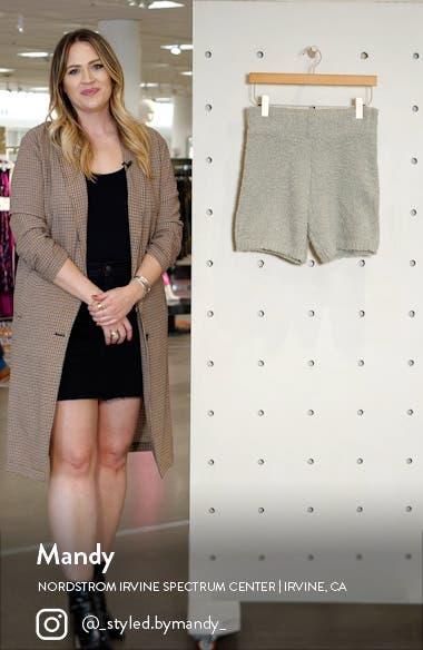 Cozy Knit Shorts, sales video thumbnail