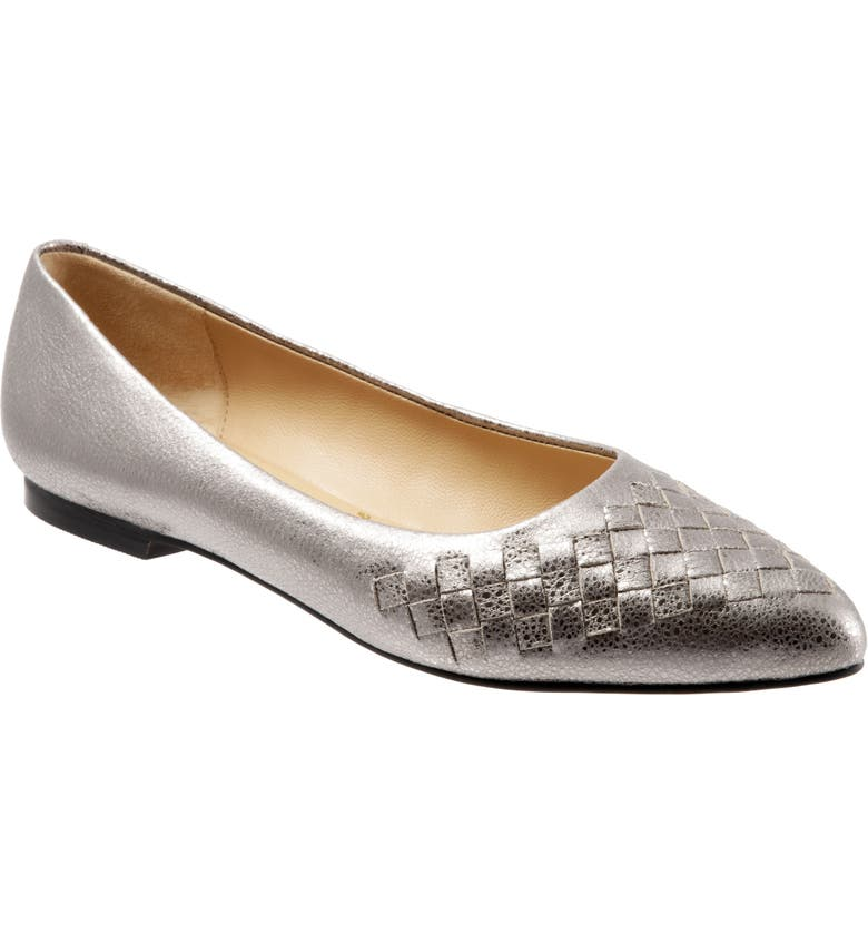TROTTERS Estee Pointed Toe Flat, Main, color, 040
