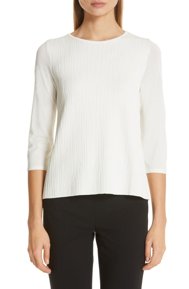 MAX MARA Circe T-Shirt, Main, color, IVORY