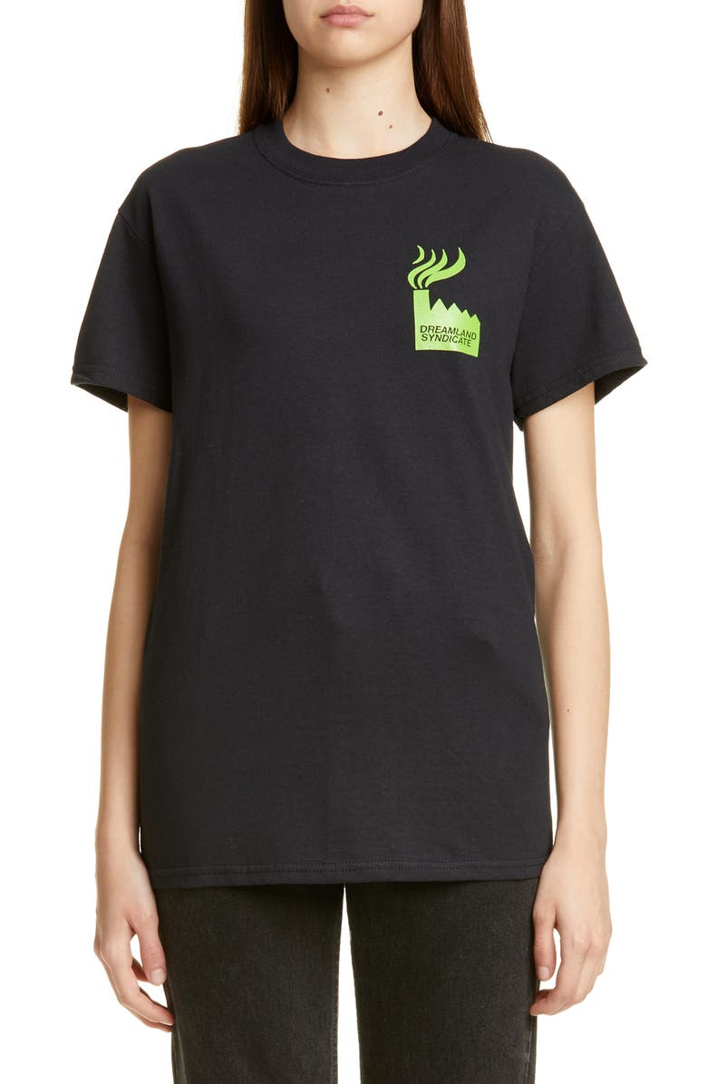 DREAMLAND SYNDICATE Factory Graphic Tee, Main, color, 001