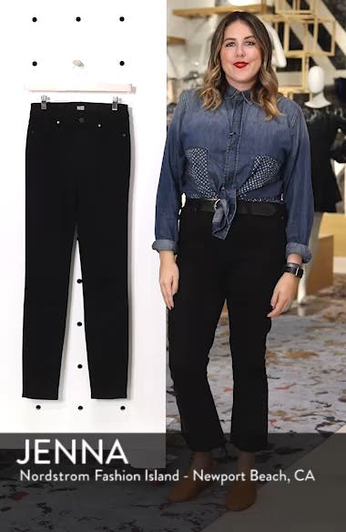 Transcend - Hoxton High Waist Ultra Skinny Stretch Jeans, sales video thumbnail