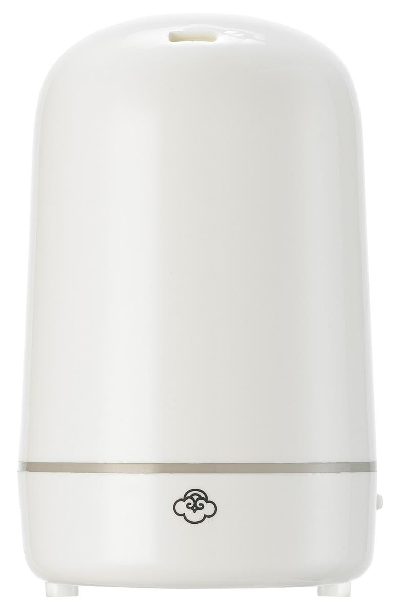 SERENE HOUSE Ultrasonic Aromatherapy Diffuser, Main, color, White