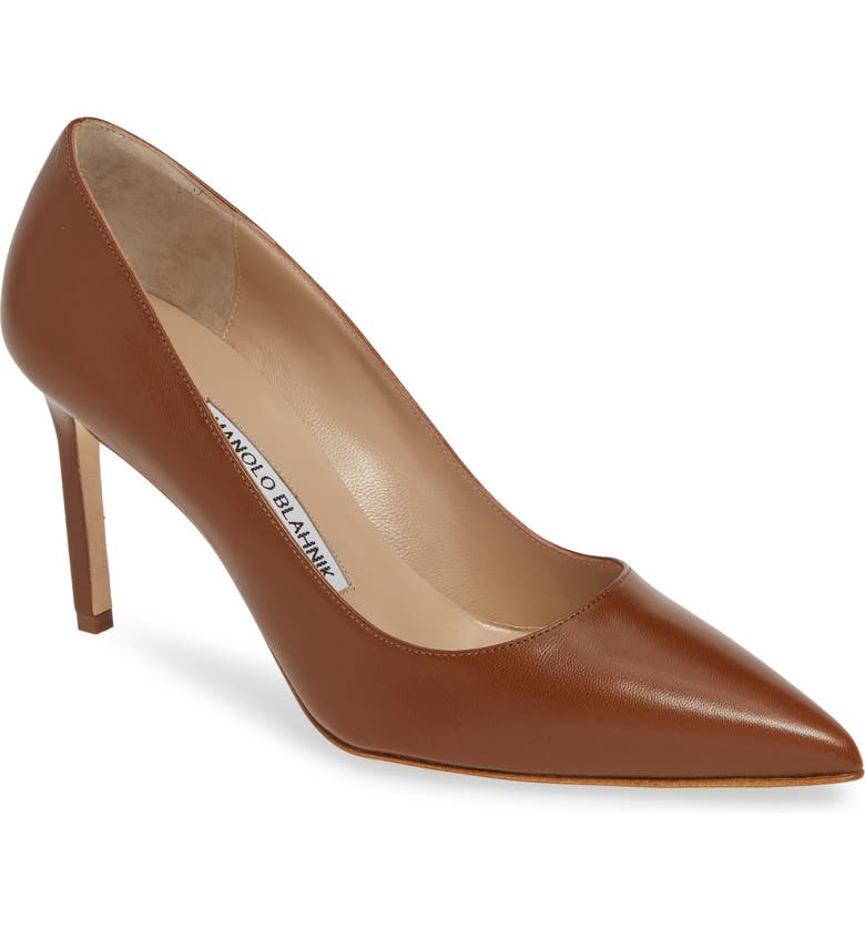 MANOLO BLAHNIK BB Pointed Toe Pump, Main, color, 210