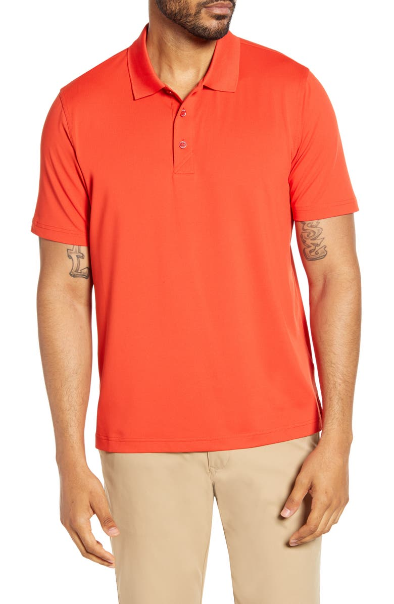 CUTTER & BUCK Forge DryTec Solid Performance Polo, Main, color, MARS