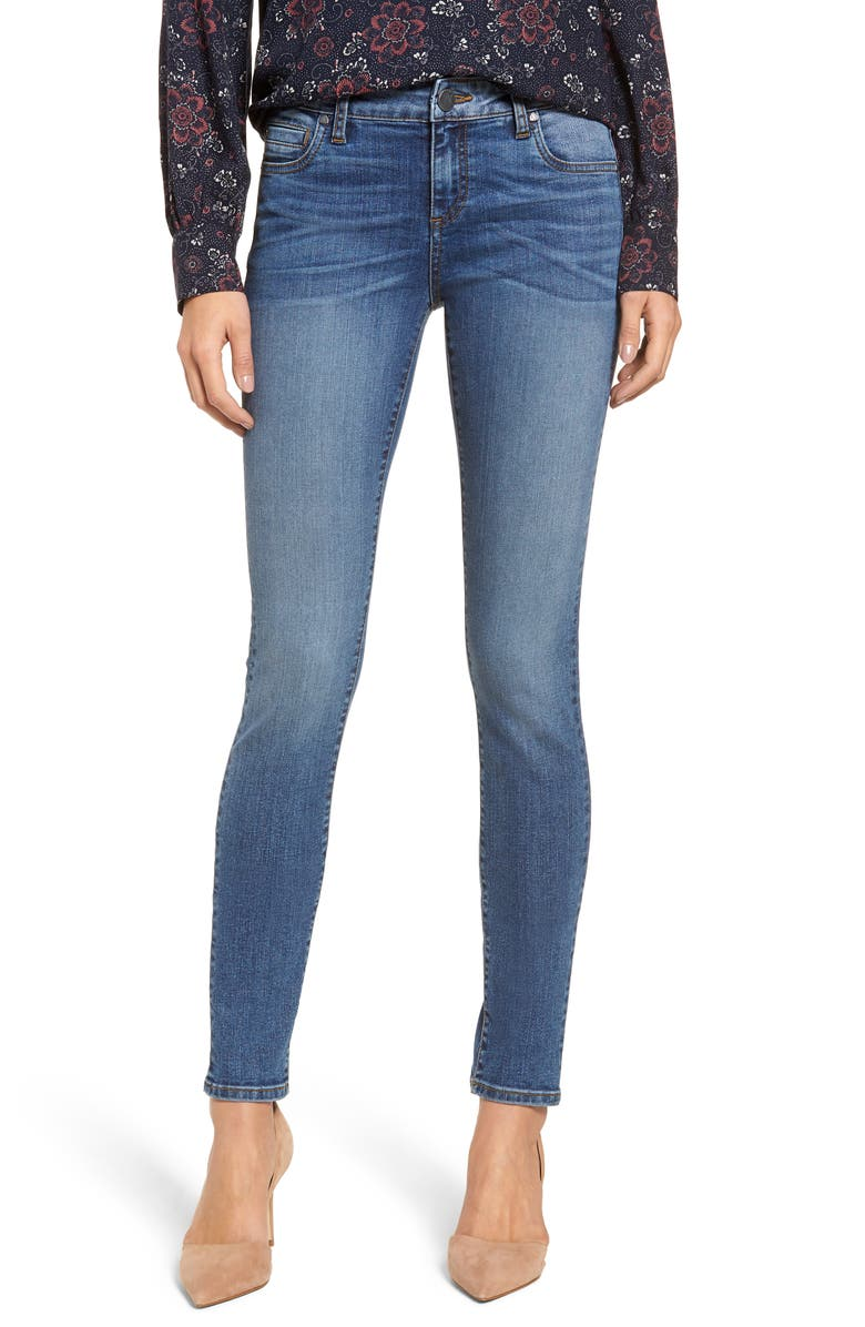 KUT FROM THE KLOTH Mia Toothpick Skinny Jeans, Main, color, FORGIVENESS