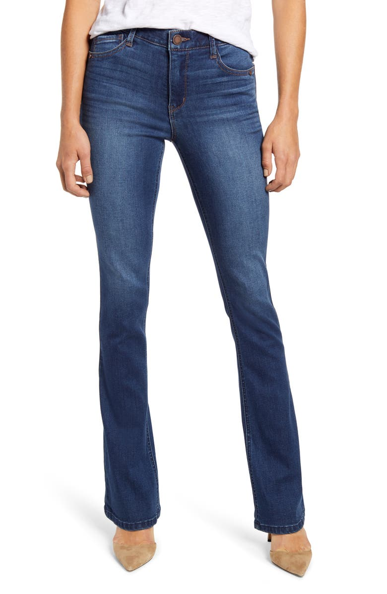 WIT & WISDOM Ab-Solution High Waist Itty Bitty Bootcut Jeans, Main, color, 420