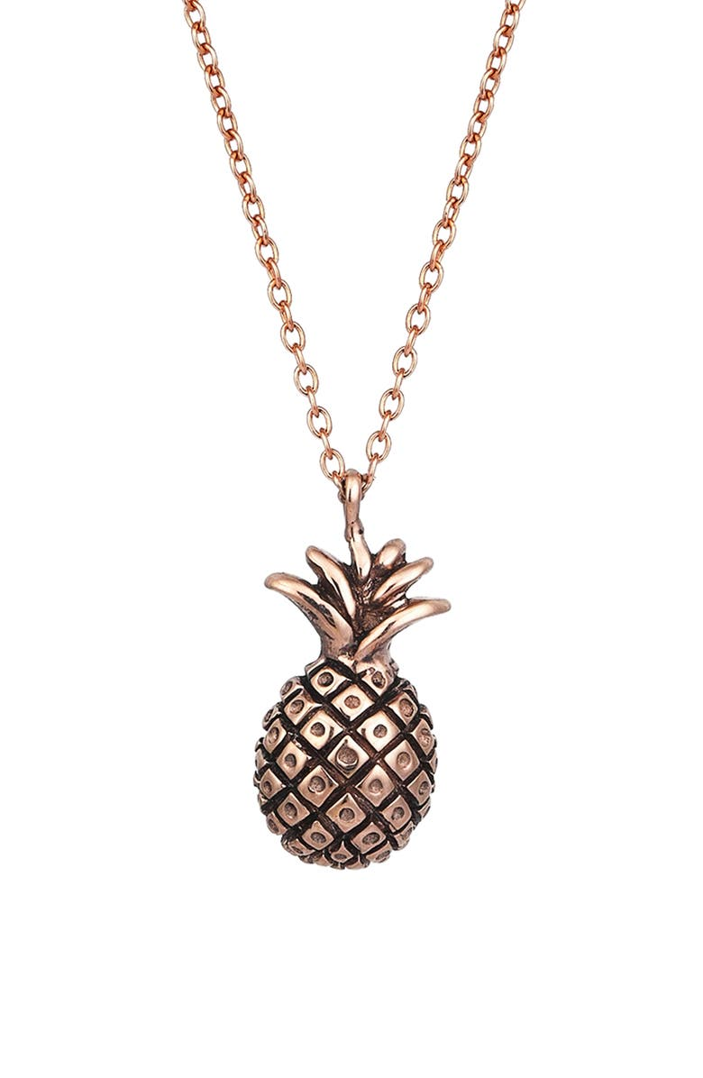 KISMET BY MILKA Baby Pineapple Pendant Necklace, Main, color, 712