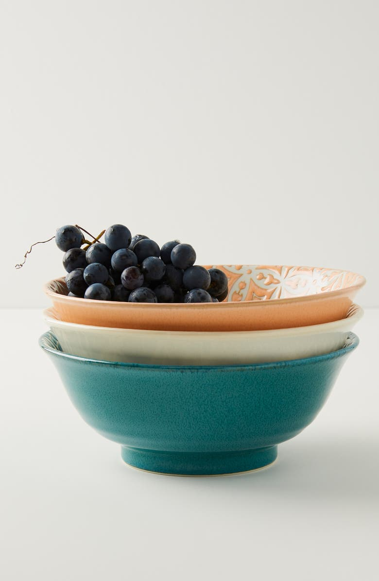 ANTHROPOLOGIE HOME Anthropologie Morocco Bowl, Main, color, 100