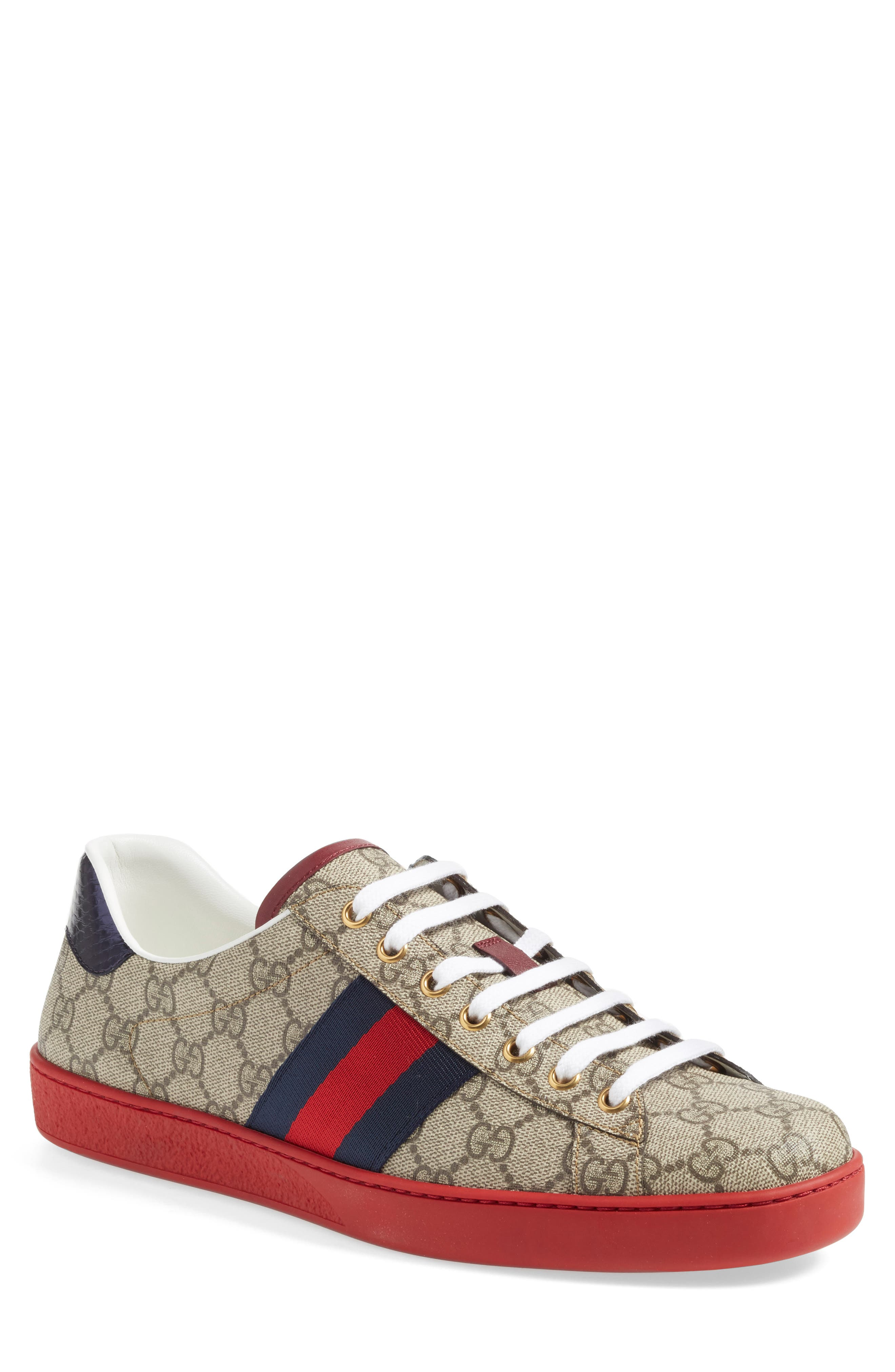 Gucci New Ace GG Supreme Low Top